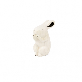 "Wooden rabbit ""Pole Pole"""
