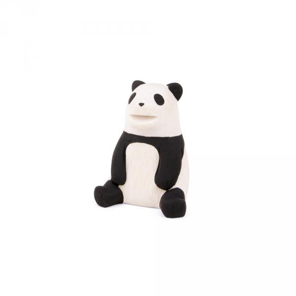 "Panda en bois ""Pole Pole"""