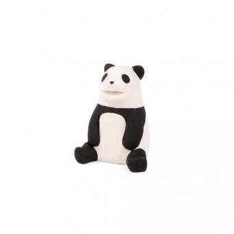 """Wooden panda """"Pole Pole"""""""