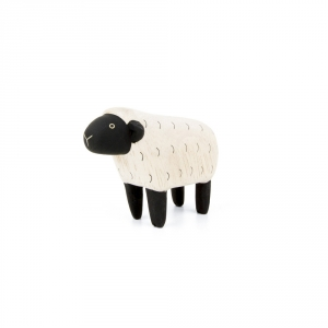 "Mouton en bois ""Pole Pole"""