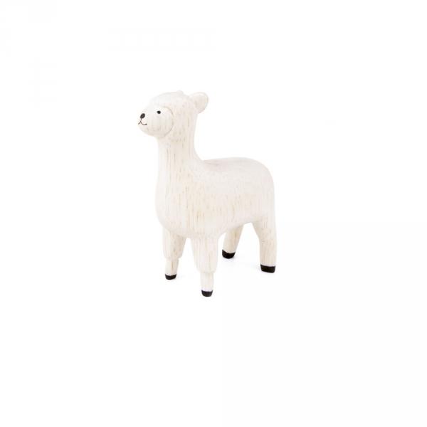 "Lama en bois ""Pole Pole"""