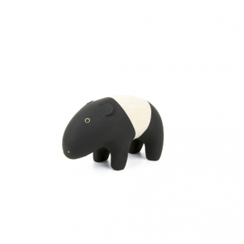 "Tapir en bois ""Pole Pole"""