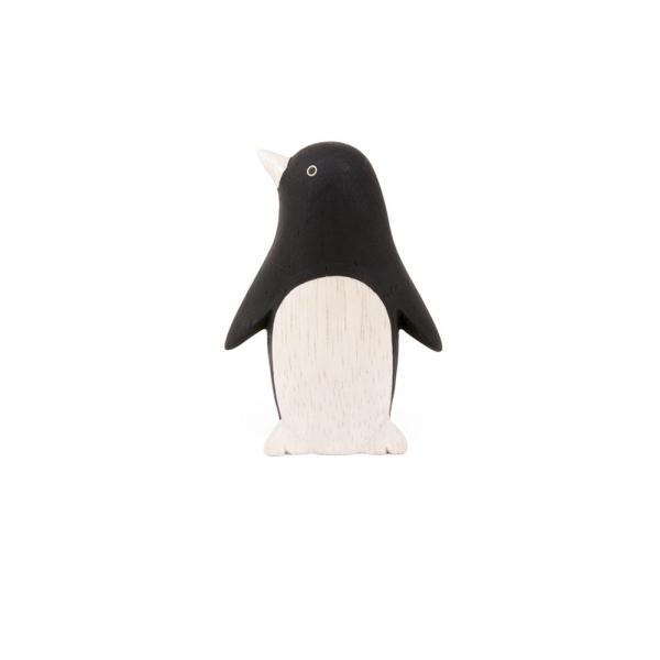 "Pingouin en bois ""Pole Pole"""