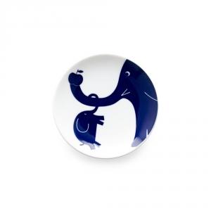 "Petite assiette ""Komon Kids"" - Elephant"