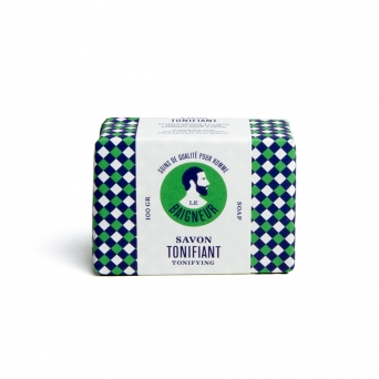 Organic soap with essential oils - TONING