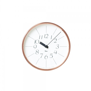 """Copper clock"" wall clock"