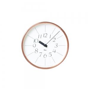 "Horloge murale ""Riki copper clock""- Lemnos"