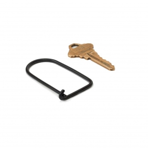 Wilson brass keyring