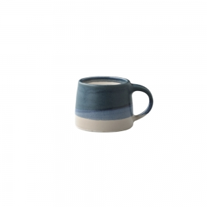 Little mug 110 ml - Blue & White