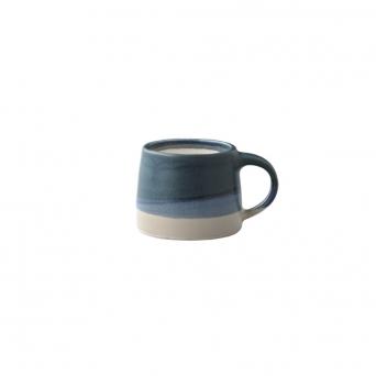 Petit mug 110 ml - bleu & blanc