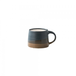 Petit mug 110 ml - noir & marron