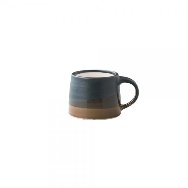 Mug 110 ml - Noir & Marron - Kinto