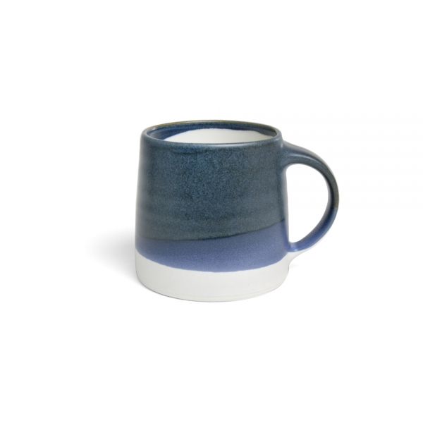 Mug 320 ml - Bleu & Blanc - kinto