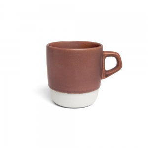 Mug empilable - rouge brique