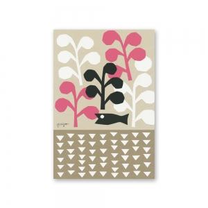 Carte postale Kirie - Poisson noir