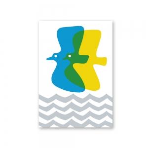 Kirie card - Birds