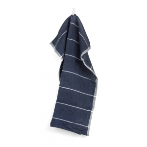 Plaisance kitchen towel - Navy