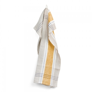 Sentier kitchen towel - Yellow