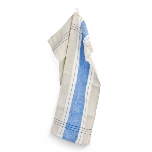 Sentier kitchen towel - Blue
