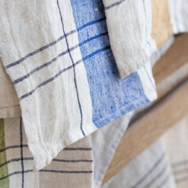 Sentier kitchen towel - Blue
