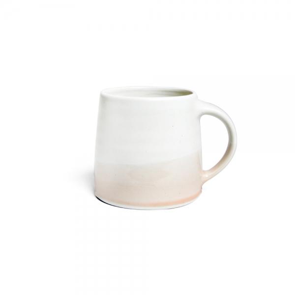 Mug 320 ml -blanc & Rose poudre - kinto