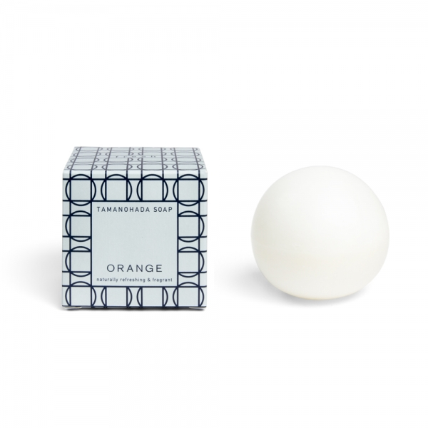 Savon boule - Orange - Tamanohada Soap & Co