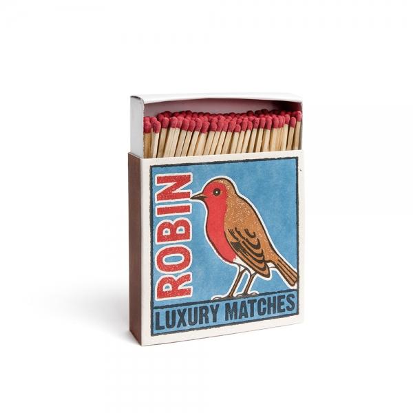 """Boîte d'allumettes """"Robin"""" - Archivist Press"""