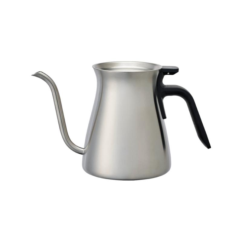 Bouilloire inox pour over kettle par kinto chez maison for Inox brosse pour cuisine