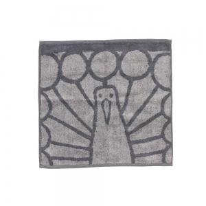 Petite serviette - Paon