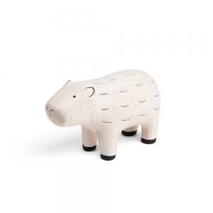 """Cochon d'eau en bois """"Pole Pole"""" - T-lab"""