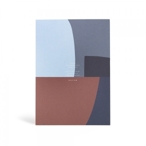 Jo blue notepad - L