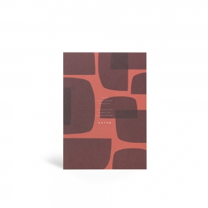 Bloc-note Jo rouge - M