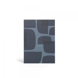 Jo blue notepad - M