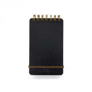 Little notebook - black leather