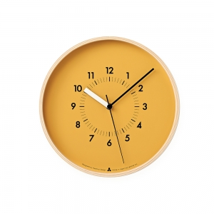 AWA SOSO wall clock - Yellow