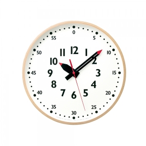 """Fun Pun"" wall clock"
