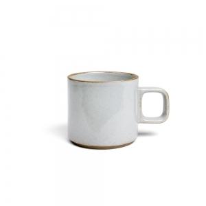 Mug bas - Gris émaillé
