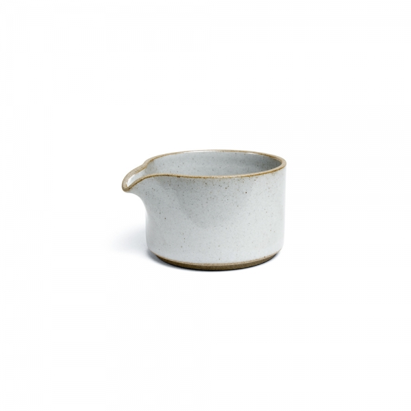 Pot à lait - Gris émaillé - Hasami Porcelain