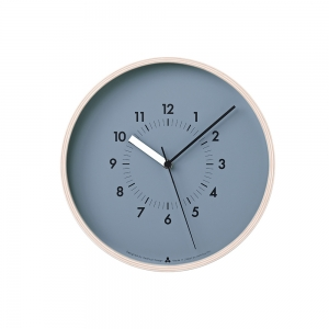 """AWA Soso"" wall clock - Blue"