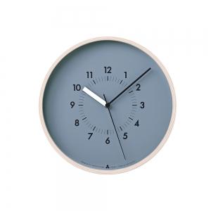 "Horloge murale ""AWA Soso"" - Bleu"