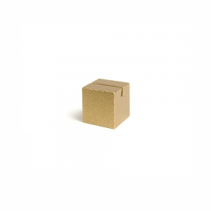 Brass card stand