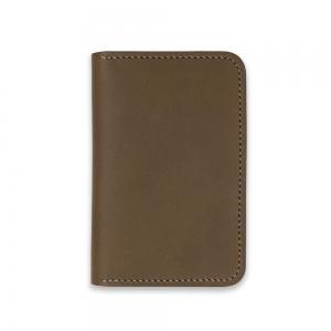 Bifold card holder - Olive Baranil