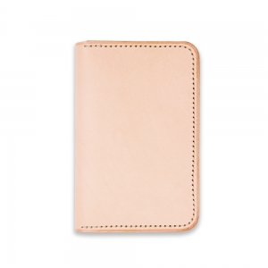 Bifold card holder - Natural