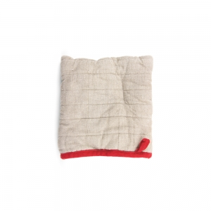 Square oven mitt - Natural