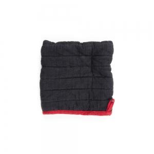 Square oven mitt - Black