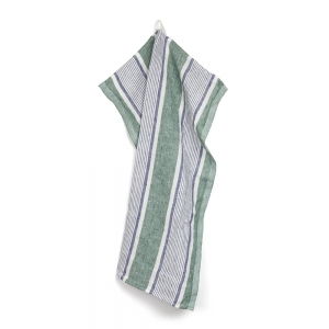Pontoise kitchen towel - Green