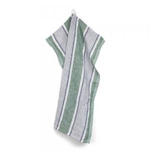Pontoise kitchen towel - Green