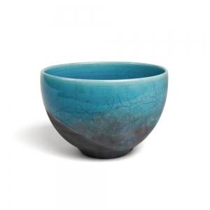 Raku bowl - L