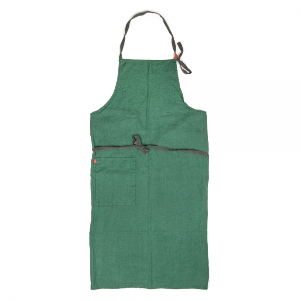 Manon full apron - Forest green