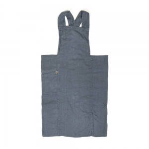 Anita full apron - Blue